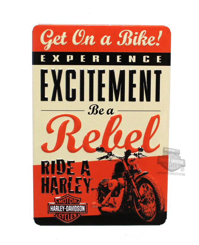 Harley-Davidson® Magnet Get On Bike