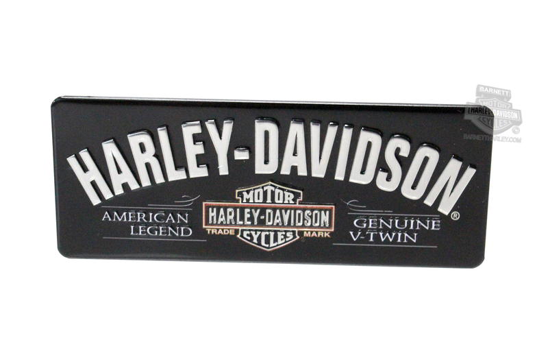 Harley-Davidson® H-D V-Twin Trademark B&S Magnet by Ande Rooney
