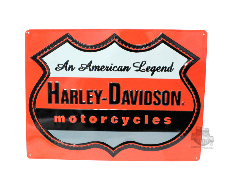 Harley-Davidson® American Legend Tin Sign