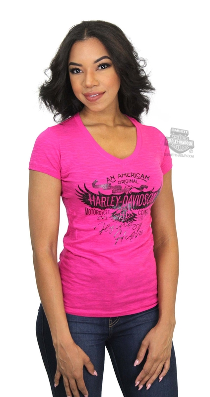 Barnett Harley Davidson Clothing And Apparel Barnett Womens Short