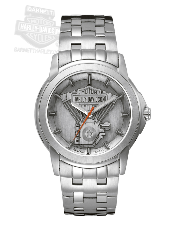 Harley-Davidson® Engine Expansion Watch By Bulova®