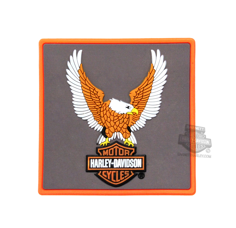 ** 2 for $5 ** Harley-Davidson® Upwing Eagle with B&S Mile-Tiles™ Magnet