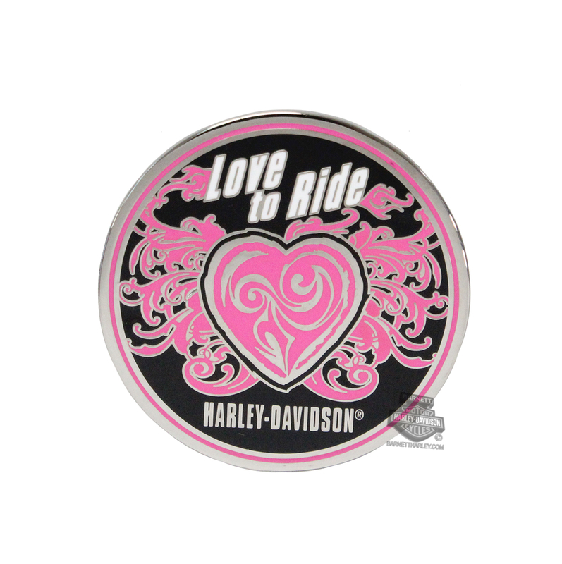 Harley-Davidson® Love To Ride Heart with B&S 1.75