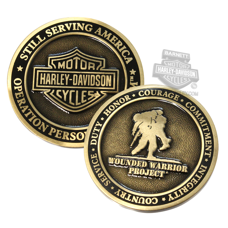 Harley-Davidson® Wounded Warrior Project 1.75