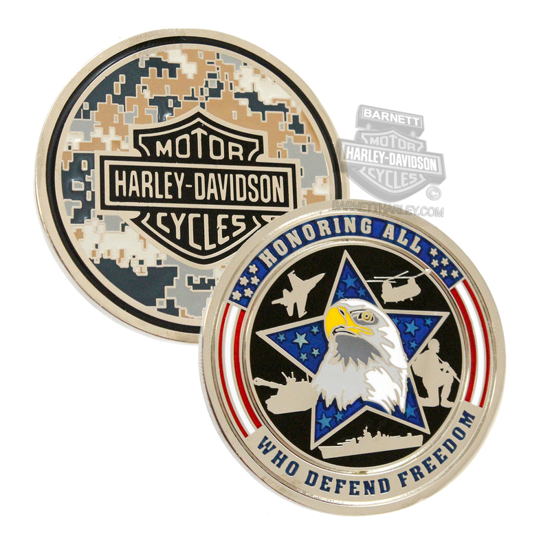 Harley-Davidson® Honoring Freedom Eagle with B&S 1.75