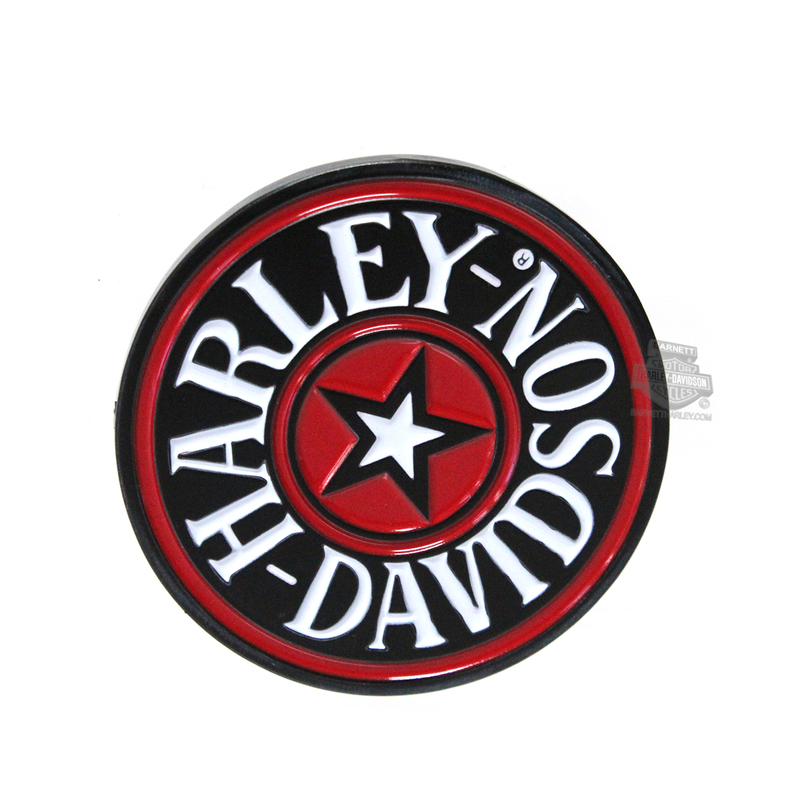 Harley-Davidson® Mens Red Star with B&S 1.75