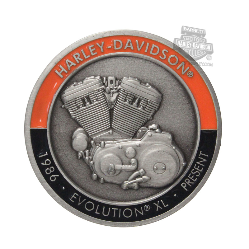 Harley-Davidson® Mens Evolution® XL with Trademark B&S 1.75