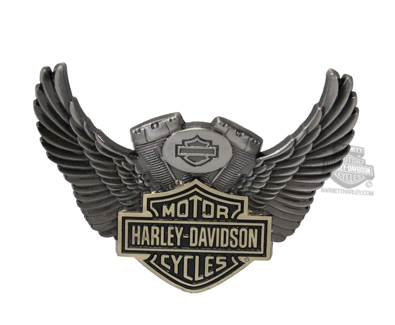 Harley-Davidson® Winged Motor B&S Heavy-Duty 3