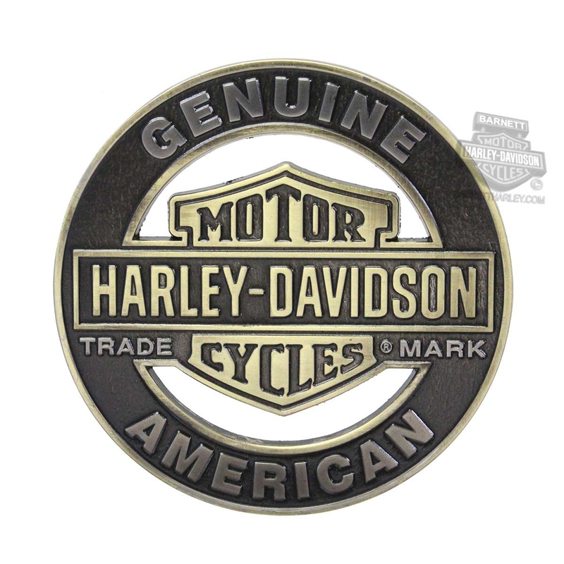 Harley-Davidson® Trademark B&S Cutout Heavy-Duty 3