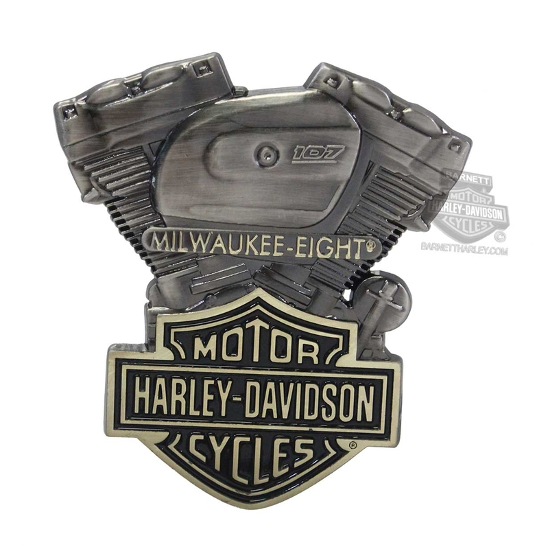 Harley-Davidson® Milwaukee-Eight with B&S Heavy-Duty 3