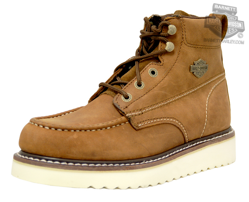 Harley-Davidson® Mens Beau Tan Leather Low Cut Boot