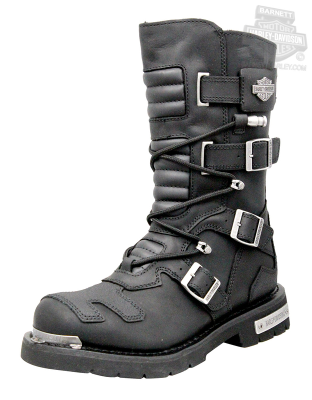 Harley-Davidson® Mens Axel Black Leather High Cut Boot - H-D® Dealer Exclusive *ESP*