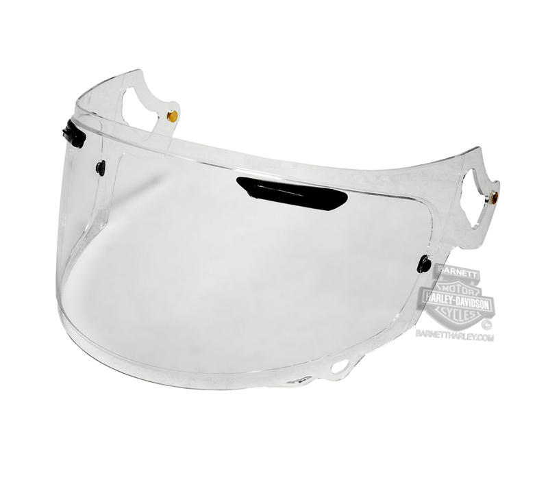 Harley-Davidson® Mens Defiant-X, Renegade-V, XD Replacement Face Shield Clear Helmet Accessories Helmet