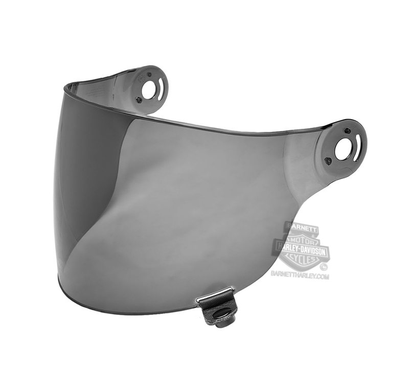 Harley-Davidson® B06 Shell Replacement Face Shield Smoke Helmet Accessories Helmet