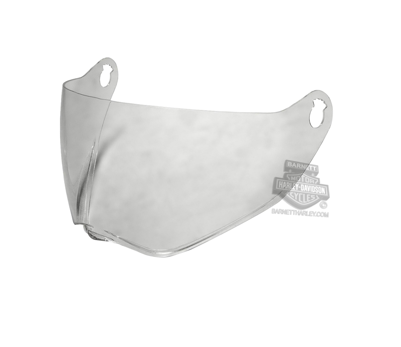 Harley-Davidson® Mens B15 Replacement Face Shield Clear Helmet Accessories Helmet