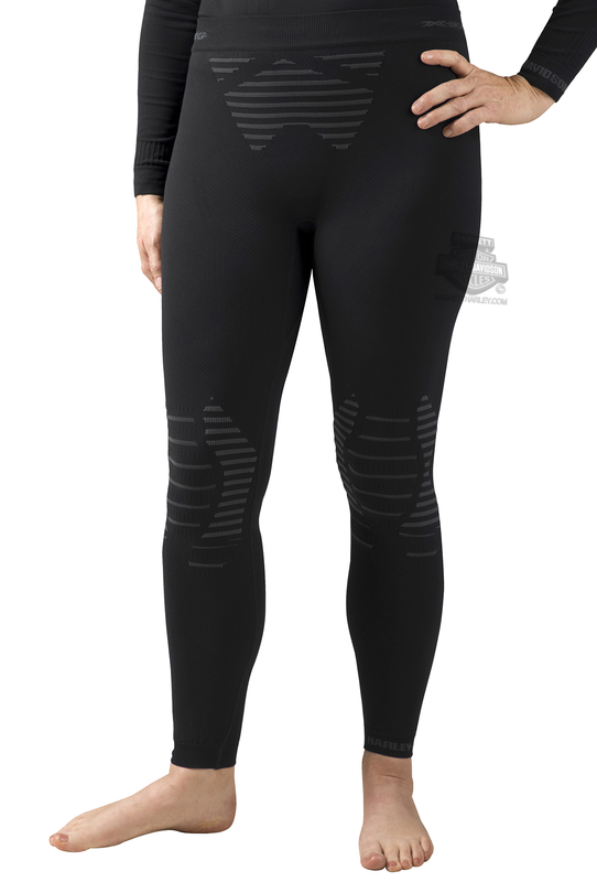 Harley-Davidson® Womens FXRG® Base Layer Performance Black Pant