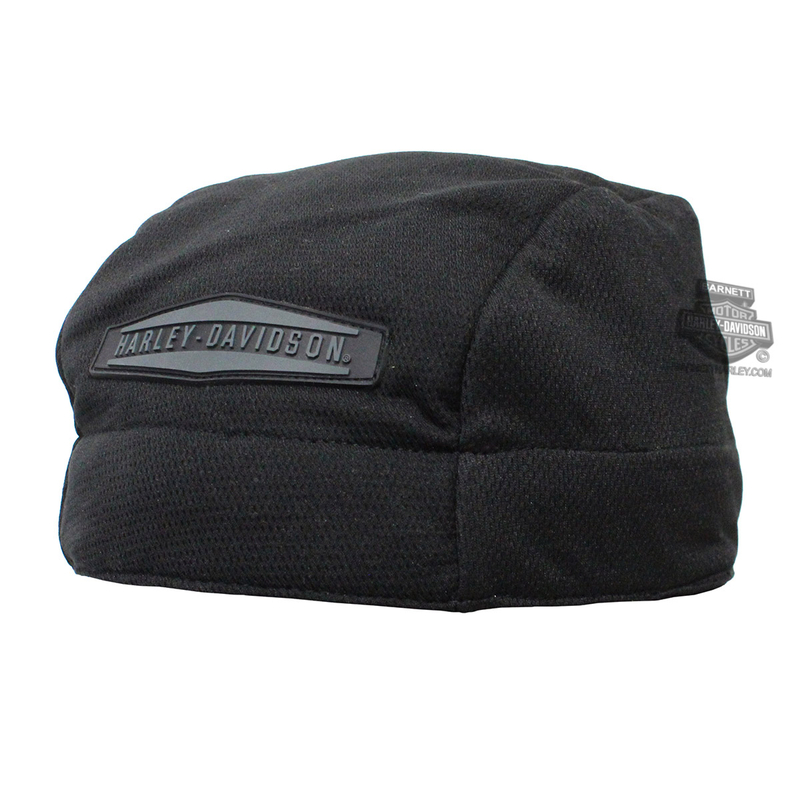 Harley-Davidson® Mens B&S Cooling with HyperKewl™ Lining Black Knit Cap *2DY*