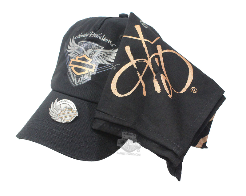 Harley-Davidson® Womens 115th Anniversary 3-Piece Ride Pack 3 Piece Ride Pack