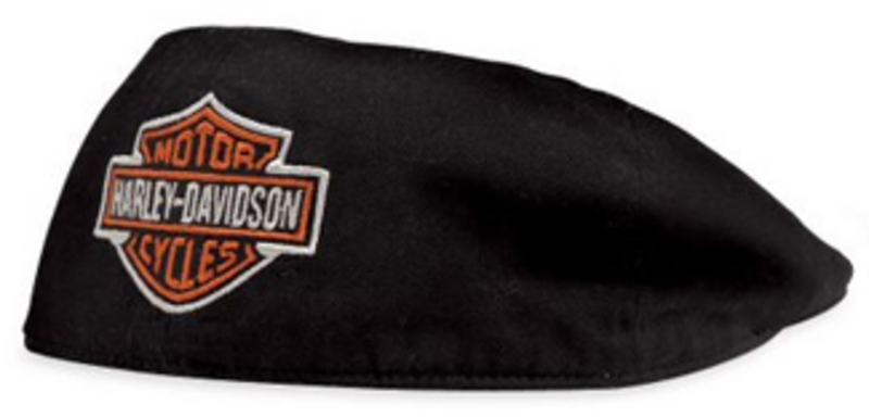 Harley-Davidson® Bar & Shield Cotton Black Ivy Cap