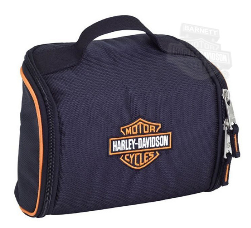 Harley-Davidson® Fabric Toiletry Kit Black