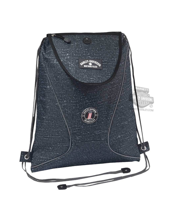 Harley-Davidson® Mens #1 Logo Sling Blue Backpack