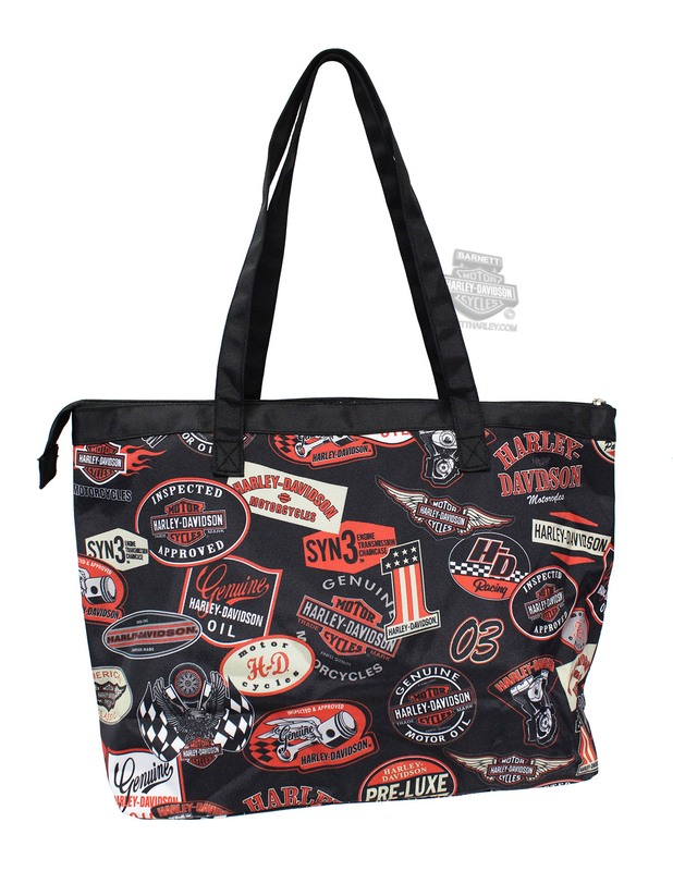 Harley-Davidson® Mens Vintage Shopper Tote Bag