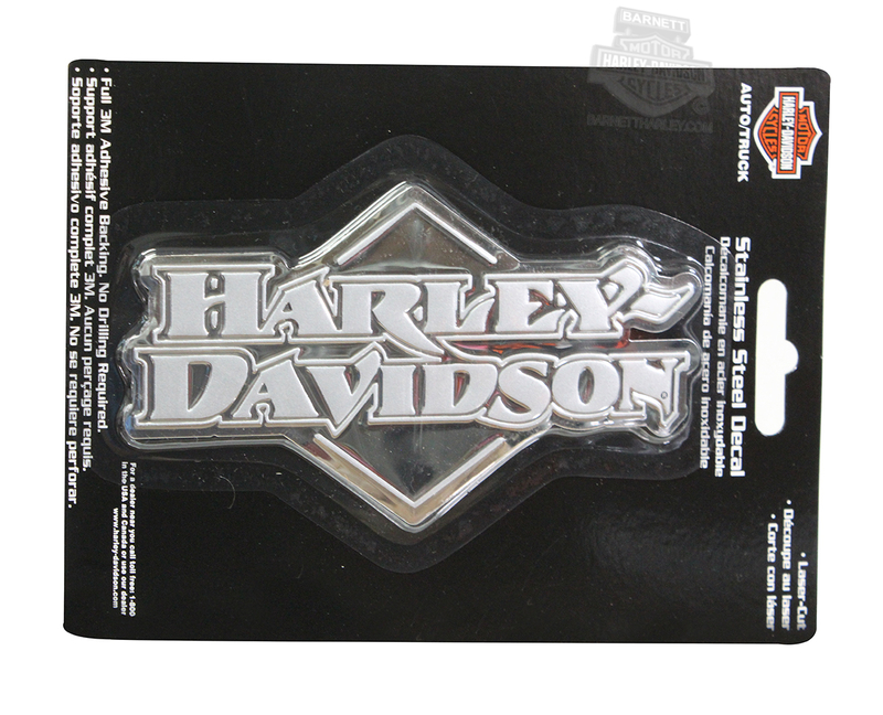 Harley-Davidson® Badge Stainless Steel Decal