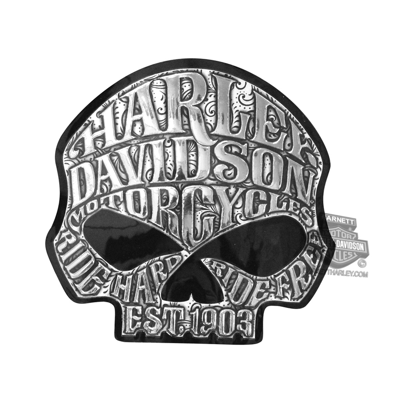 Harley-Davidson® Willie G Skull Classic Graphix™ Decal
