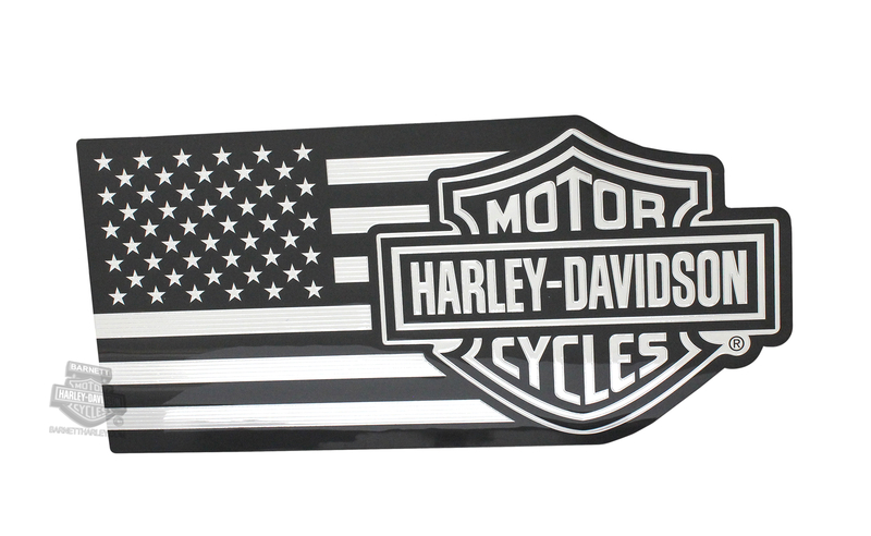 Harley-Davidson® B&S with U.S. Flag Classic Graphix™ Decal