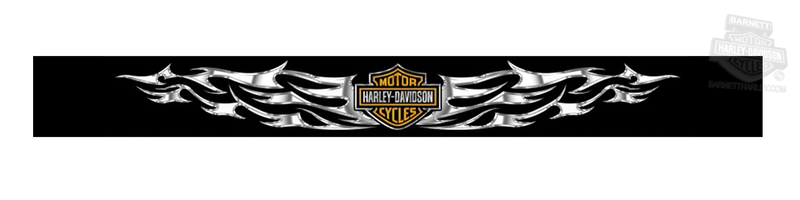 Harley-Davidson® Windshield Sunscreenz™ Decal Tribal Tattoo