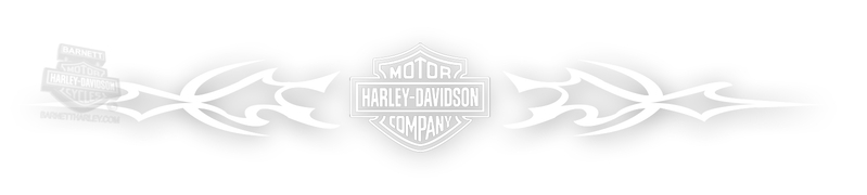 Harley-Davidson® Xpressionz™ Windshield Decal Tribal With B&S