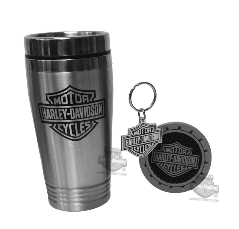 Harley-Davidson® B&S Logo 3Pc Auto Travel Pax Gift Set