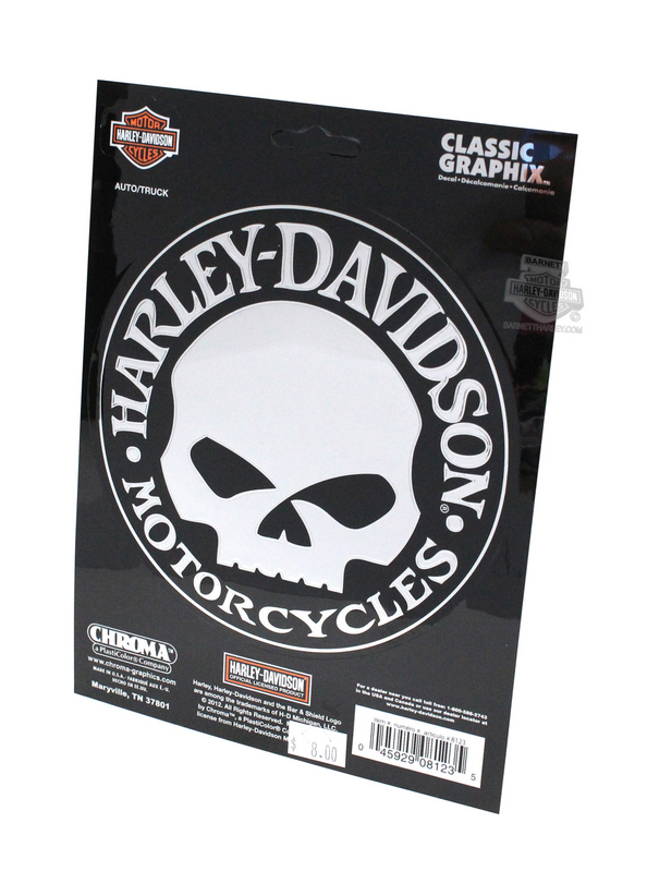 Harley-Davidson® Willie G Classic Emblemz™ Decal