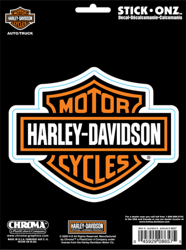 Harley-Davidson® B&S Stick-Onz™ Decal