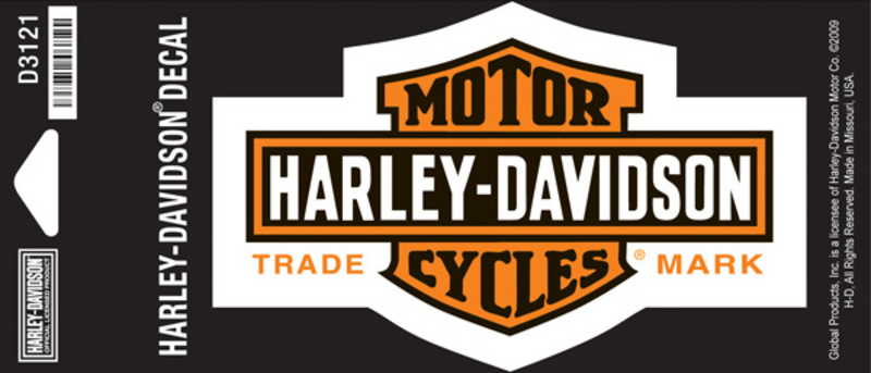 Harley-Davidson® Long B&S X-Small Decal