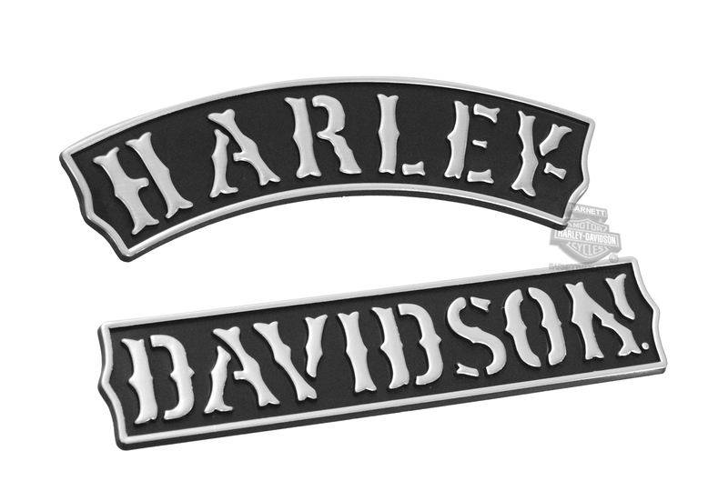 Harley-Davidson® Vintage Rockers Plastic Medium 3D Decal