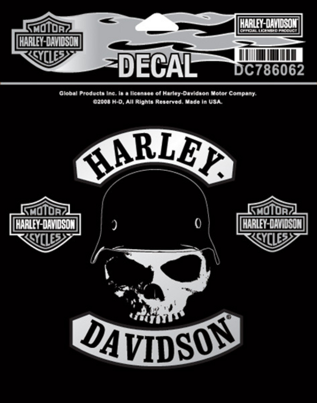 Harley-Davidson® Spike Small Decal