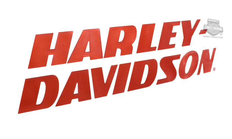 Harley-Davidson® Strong H-D Thermal Die Cut Large Decal