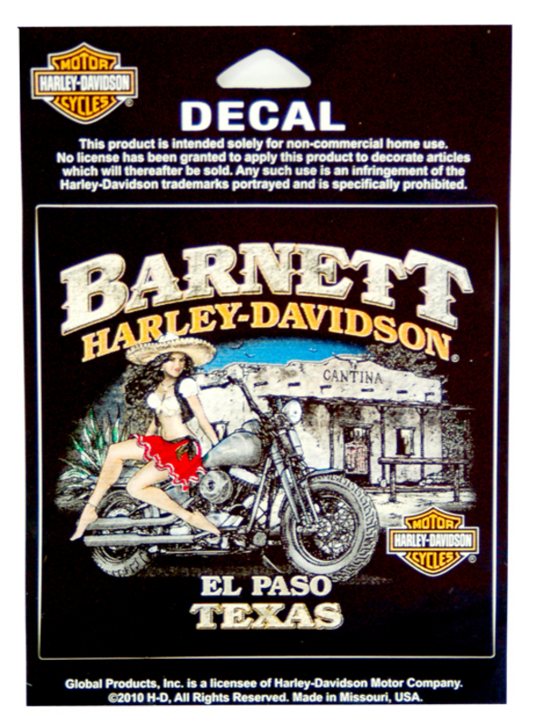 Harley-Davidson® Barnett H-D Mamacita Pin Up Decal