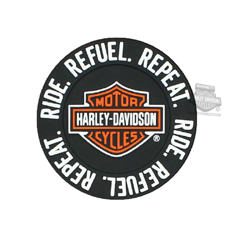 Harley-Davidson® Ride, Refuel, Repeat B&S PVC Magnet