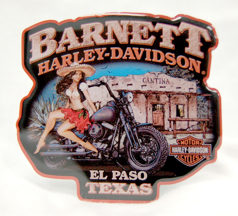 Harley-Davidson® Mamacita Pin Up Girl Magnet