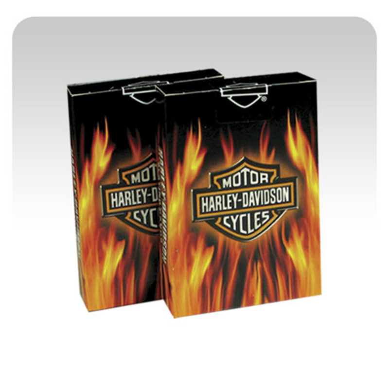 Harley-Davidson® Cards Flame Playing Cards