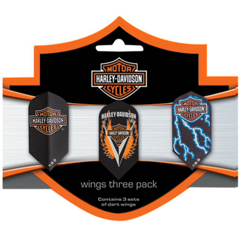 Harley-Davidson® Flights Wings Slim 3 Pack