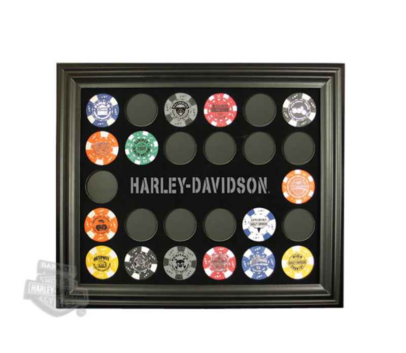 Harley-Davidson® Frame Poker Chip Collector