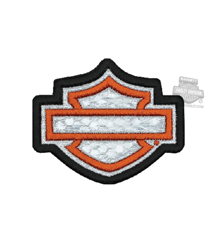 Harley-Davidson® Blank B&S Small Patch