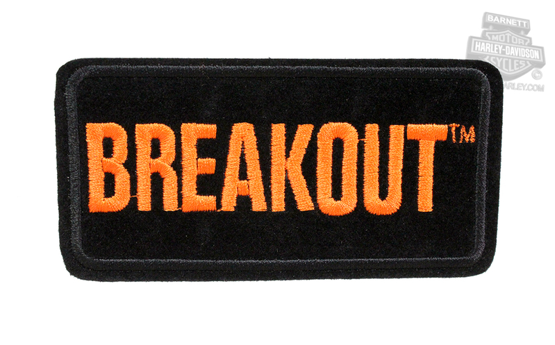 Harley-Davidson® Breakout® Small Patch