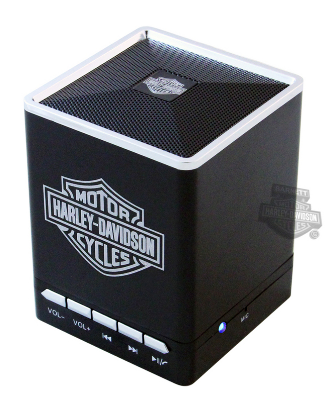 Harley-Davidson® B&S Bluetooth Black Speaker