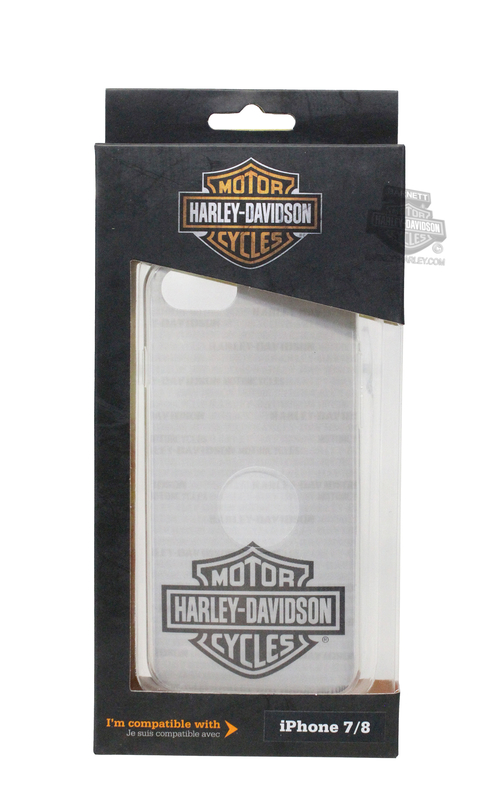 Harley-Davidson® iPhone 8 & 7 B&S Text 3-D Phone Shell