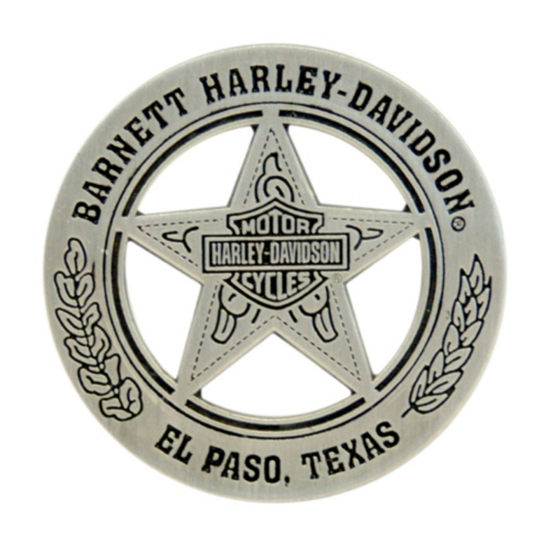 Harley-Davidson® BHD Texas Star Metal Badge Pin