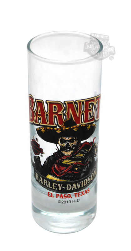 Harley-Davidson® Shot Muerte Clear Tall